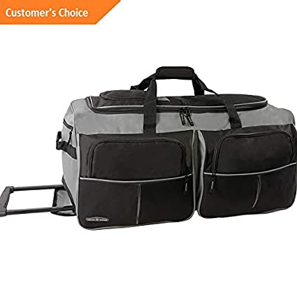 Amazon.com | Sandover Pacific Coast 30 Large Rolling Duffel Bag 5 Colors | Model LGGG - 2022 | | Travel Duffels