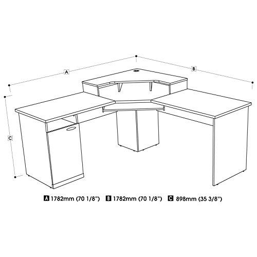 Review Corner Desk HKA054