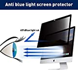 BERSEM iMac 21.5 inch Monitor Privacy Screen for