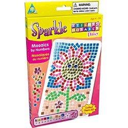 DAISY SPARKLE Mini Sticky Mosaics by The Orb Factory