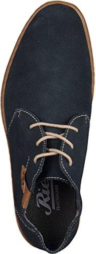 Rieker - Zapatos de Cordones Hombre Azul - azul