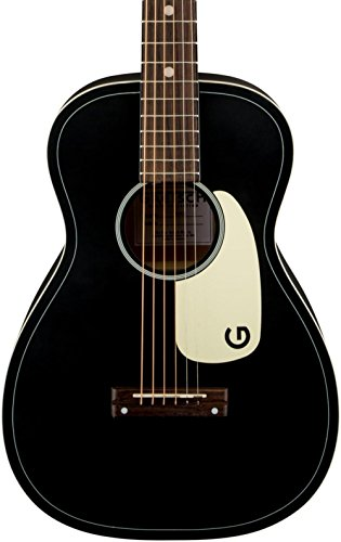 0 Jim Dandy Flat Top Acoustic Guitar Black (Gloss Top Acoustic Guitar)