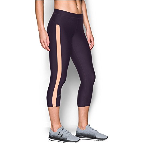 Under Armour Women's CoolSwitch Capris, Imperial Purple (171)/Graphite, Small