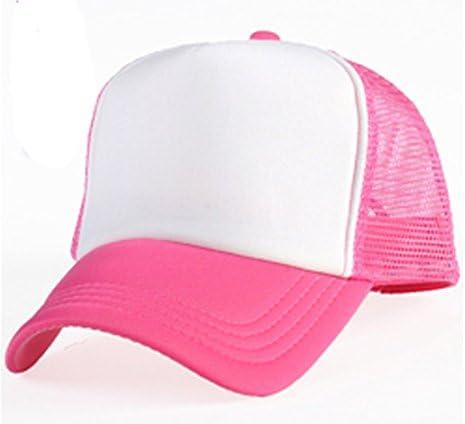 Rosa sublimación gorra de béisbol: Amazon.es: Hogar