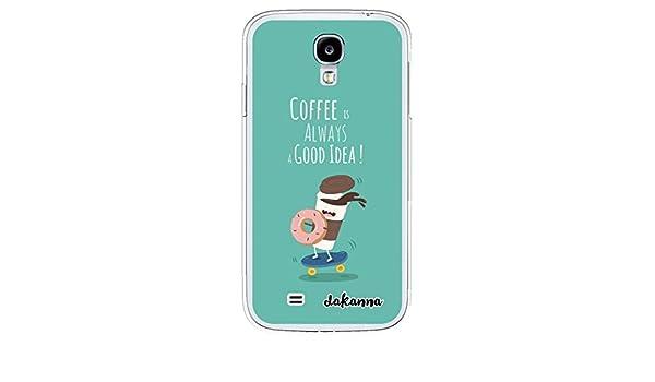 dakanna Funda para Samsung Galaxy S4 | Comida Café y Donut ...
