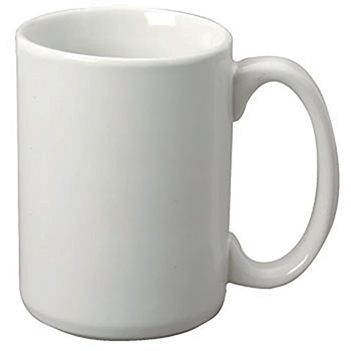 Main Street Sonata 15 oz Coffee Mugs - 4 piece Set (Moonlight Grey) (Set Of Oversized Coffee Mugs compare prices)