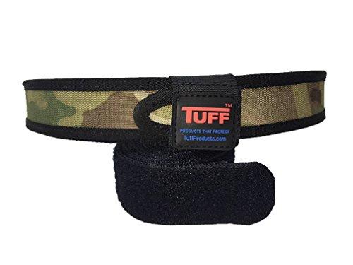 Quik2U TUFF SureFit Competition Belt Set Inner and Outer Belt with Keeper (Multicam/Black, Extra Large 46-52) ()