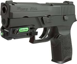LaserMax Universal Rail Mount Green Laser Sight for Full Size Pistols - LMS-UNI-G