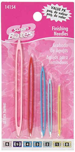 Susan Bates 14154 Finishing Value Pack Knitting Needle, ()