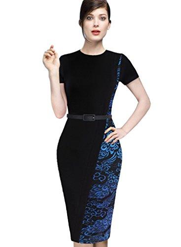 Buy belted lace sheath dress - 3