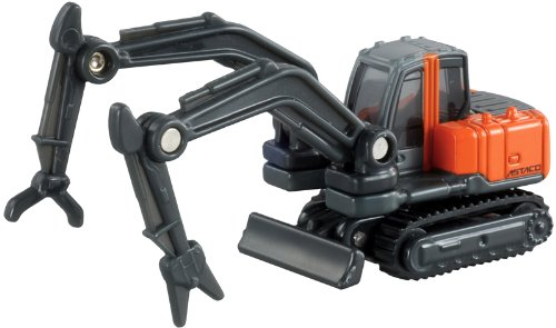 Takara Tomy Tomica #065 Hitachi double arm construction machine