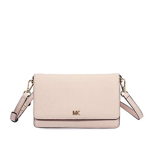 Michael Kors Pebbled Leather Convertible Crossbody SOFT PINK