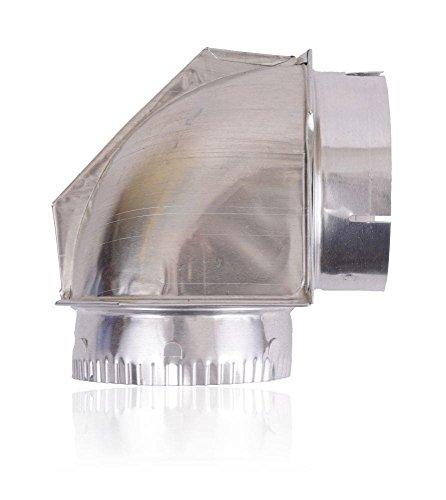 Builder's Best 4396006RW Dryer Exhaust Duct Elbow Genuine Original Equipment Manufacturer (OEM) part for Builder's (Functional Elbow)