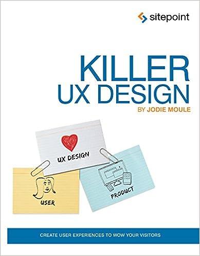 KILLER UX DESIGN SITEPOINT PDF