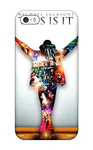 Mary David Proctor Snap On Hard Case Cover Michael Jackson This Is It Protector For Iphone 5/5s