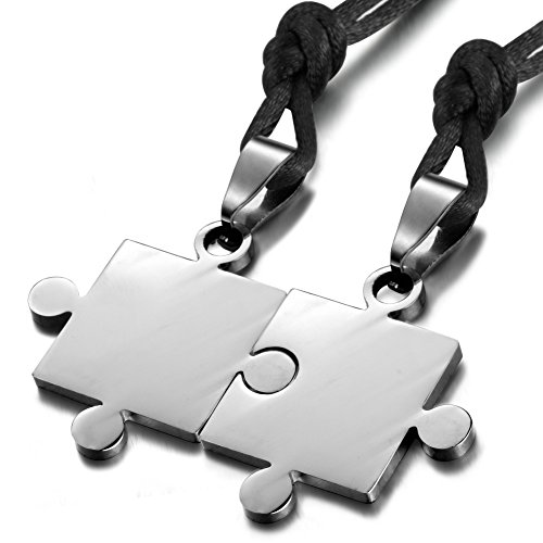 FIBO STEEL Stainless Necklace Adjustable