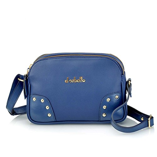 Bleu femme porté 320 à talla 1024 bleu main pour EL CABALLO dos unica au Sac wUfvPWq