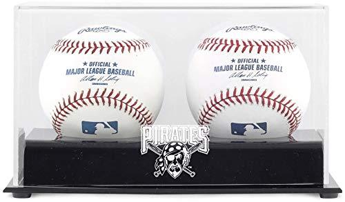 (Pittsburgh Pirates Two Baseball Cube Logo Display)