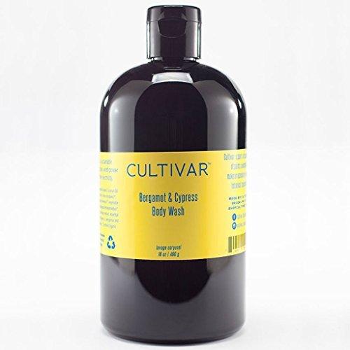 CULTIVAR Organic Bergamot & Cypress Body Wash 16 oz