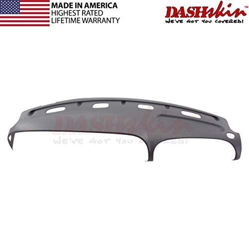 DashSkin Molded Dash Cover Compatible with 98-01 Dodge Ram in Mist Grey (USA Made)