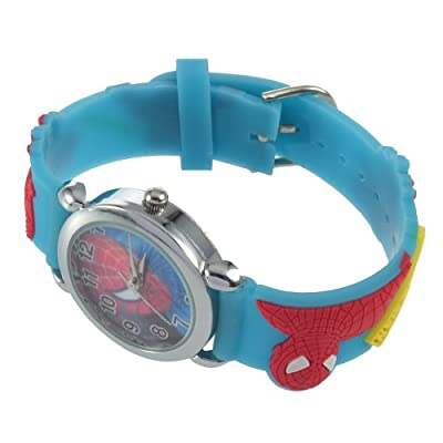 YKS Spider Man Marvel Child Boy Quartz Wrist Watch New