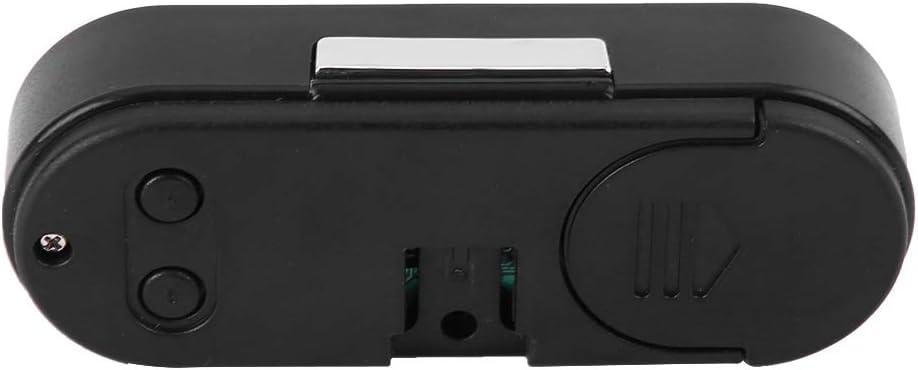 2 in 1 Auto Fahrzeuginnenraum Mini Elektronische Uhr LED Digitaluhr Thermometer Voltmeter