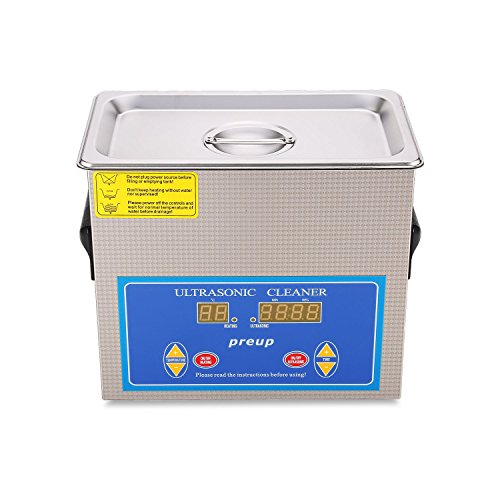 Ultrasonic Jewelry Cleaner Preup 3L Professional Watch an...