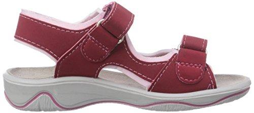 Ricosta Newa - sandalias abiertas de material sintético niña rosa - Pink (raspberry/rose 381)