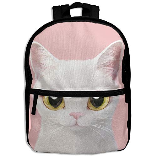 Personalized Princess Cd - B-Dream Cute Cat Preschool Backpack Little Kid Backpacks For Boys And Girls With Chest Strap