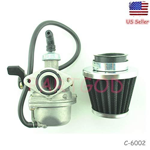 Carburetor Carb W/Air Filter for Honda Aero