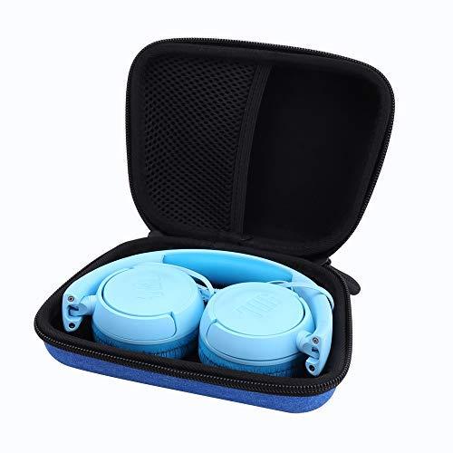 Hard Storge Case for JBL JR 300BT/ JR 300/ Kids On-Ear Wireless Headphones by Aenllosi(Blue