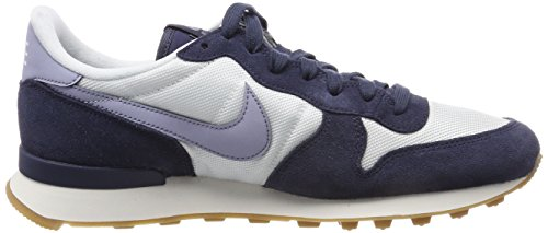 Nike Damen Internationalist Sneaker Weiß (Summit White/Glacier Grey-Thunder Blue)