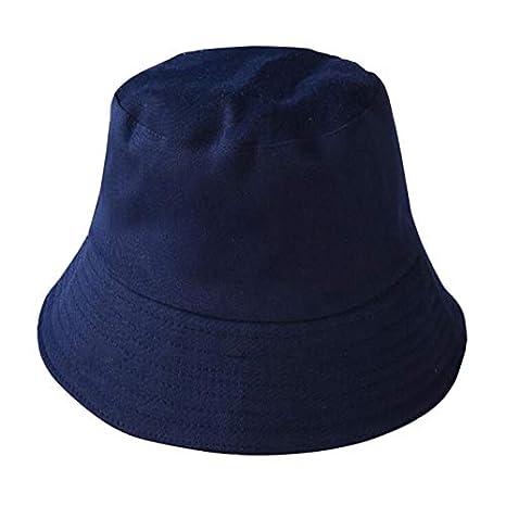 60 cm Polyester Wisilan Chapeau Unisexe Pliable d/ét/é Chapeau de Soleil Chapeaux de p/êcheur Chapeaux pour Vacances /à la Plage 5 Couleurs Red