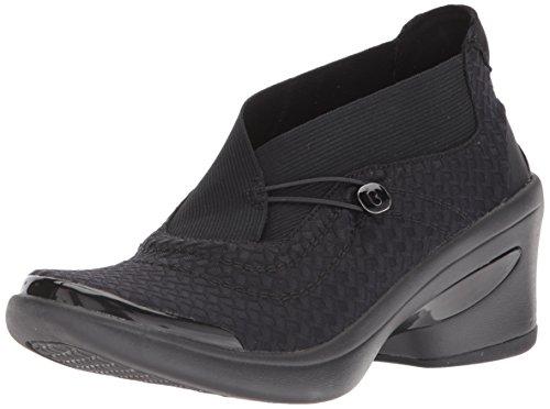 BZees Women's Energy Ankle Boot, Black, 8.5 M US