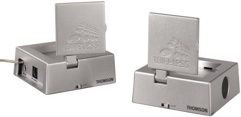 Thomson VS470U Wireless TV Video Sender Negro Reproductor de DVD: Amazon.es: Electrónica