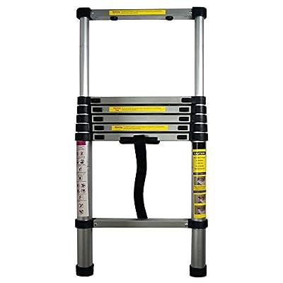 Yi Hai 6.5ft Portable Aluminium Telescoping Ladder Extension Multi Purpose Lightweight
