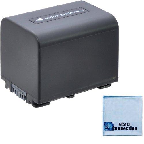 NP-FV70 3800mAh InfoLithium V Series Li-Ion Battery + Microfiber Cloth for Sony HDR-CX350E HDRCX350E CX350E HDR-CX350V HDRCX350V CX350V HDR-CX360 HDRCX360 CX360 HDR-CX370 HDRCX370 CX370 HDR-CX370V HDRCX370V CX370V HDR-CX380 HDRCX380 CX380 ()