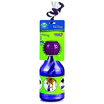 PetSafe Busy Buddy Tug-A-Jug Meal Dispensing Dog Toy, Medium/Large