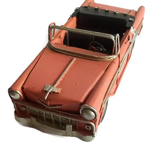 Chevy Bel Air Convertible Car model display vintage style - Orose color