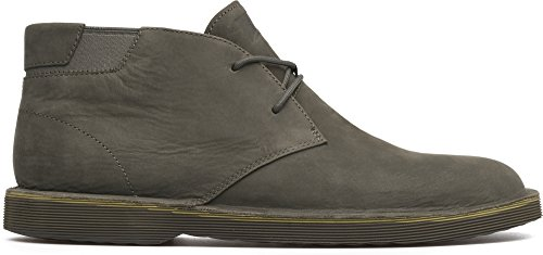 (Camper Men's Morrys Ankle Boot, Dark Green, 46 D EU (13 US))