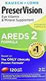 PreserVision AREDS 2 Eye Vitamin & Mineral Supplement with Lutein and Zeaxanthin Soft Gels FamilyValue 1Pack (180SGels) WDF#PreserVision