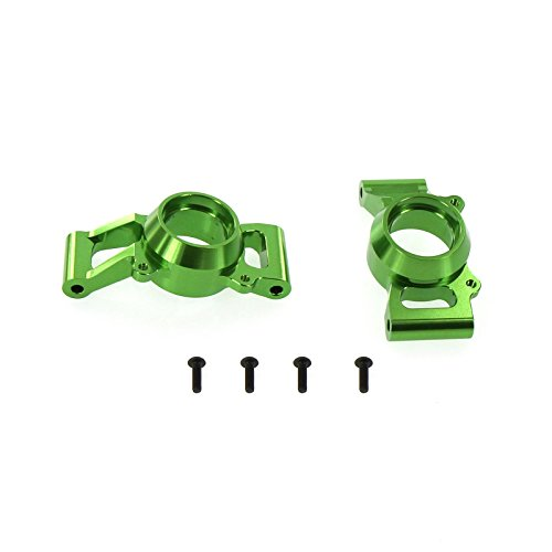 Atomik RC Alloy Rear Hub Carrier Green fits X-Maxx Replaces Traxxas Part 7752 RC Car and Truck -