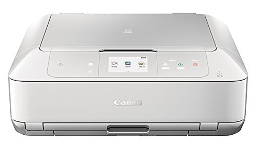 Canon MG7720 Wireless All-In-One Printer with Scanner and Copier: Mobile and Tablet Printing, with Airprint  and Google Cloud Print compatible, White by Canon (Image #2)