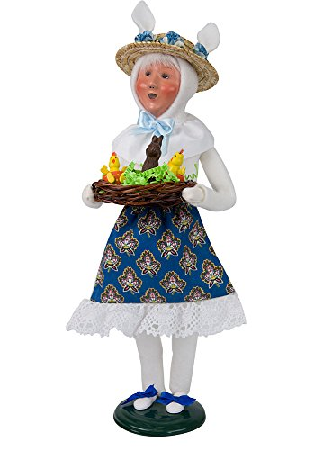 Byers' Choice #2211D Easter Bunny Woman 2018