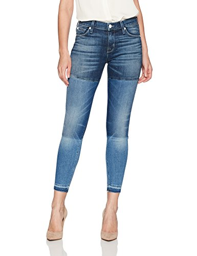 Hudson Jeans Women's Isla Midrise Crop Skinny with Released Hem Jean, HIGH Marks 29