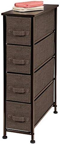 mDesign Narrow Vertical Dresser Storage product image