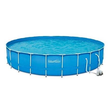 Amazon.com: Adams Pack Above Ground Swimming Pool 24\' x 52 ...