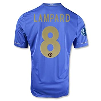 low cost 1515a 6d5b7 Chelsea 12-13 Frank Lampard #8 Home (S,M,XL?) + Uefa ...