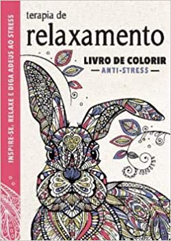 Terapia De Relaxamento Livro De Colorir Anti Stress Richard