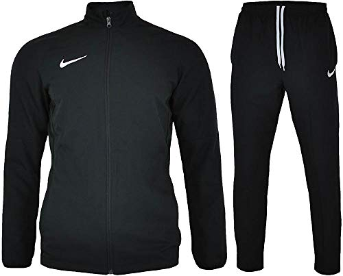 Nike Academy 18 Woven Tracksuit Men's (Black/Anthracite/White, L)